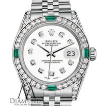 Rolex Datejust 31mm Stainless Steel White Certified Diamonds...
