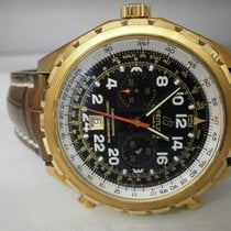 Breitling Chrono-matic H22360 18k Rose 45mm Pilots' 24...
