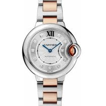 Cartier WE902061 Ballon Bleu Ladies 33mm Automatic in 2-Tone -...
