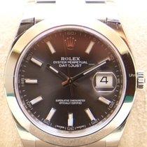 Rolex Datejust 41, Ref. 126300 - dark rhodium Index ZB/Oysterband