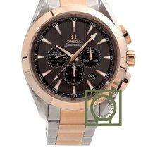 Omega Seamaster Aqua Terra Chronograph Pink Gold choco Dial NEW