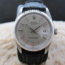 勞力士 (Rolex) DATEJUST 1601 SS ORIGINAL Silver Linen Dial