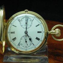 Carrington 18kt 750 Gold Gelbgold Savonette Taschenuhr...