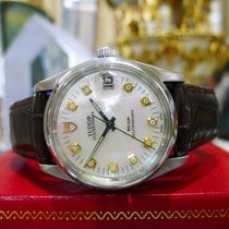Tudor Mens  1988 Stainless Steel Gold Diamond 34mm Ref: 74000n...