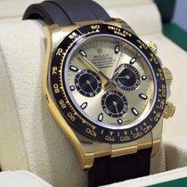 Rolex Daytona 18k Yellow Gold 116518ln Oyster Perpetual...