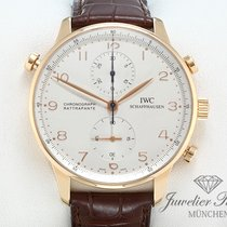 IWC Portugieser Rotgold 750 Rattrapante Chronograph IW 3712