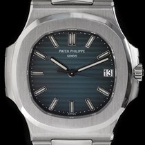 Patek Philippe Nautilus 5711 Blue Dial In Steel With Papers