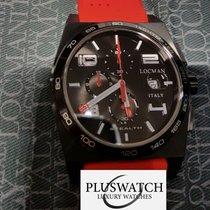 Locman STEALTH Quartz Chronograph  0209BKKBKWHRSIR Steel