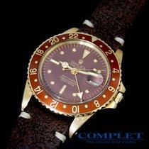 롤렉스 (Rolex) GMT Master  Brown  Nipple Dial   18KYG  Ref1675