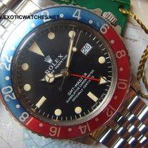 Rolex 1967 RARE MKI ROLEX GMT 1675 ORIGINAL BOX & PUNCHED...
