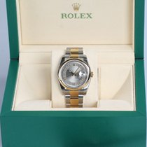 Rolex Datejust 36 mm Steel & Gold Arabic Dial