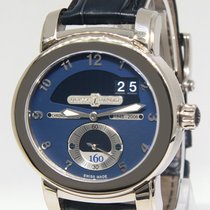 Ulysse Nardin 160th Anniversary 18k White Gold Mens Watch...
