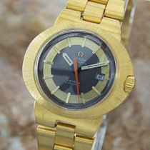 Omega Dynamic Lady Automatic 1960s Gold Plated Vintage Dress...