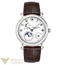 Patek Philippe Complications 18K White Gold Men`s Watch