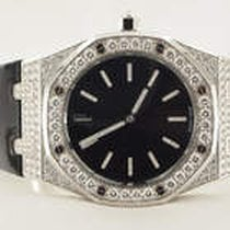 Audemars Piguet Royal Oak Tuxedo 18K Solid White Gold Diamonds