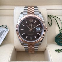 Rolex Datejust 2 - 41mm - Steel & Rose Gold - Chocolate Dial