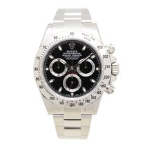 Rolex Daytona Stainless Steel Black Automatic 116520BK