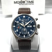 万国  (IWC) IW377714 Pilot Watch Le Petit Prince Blue Automatic...