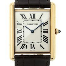 Cartier Tank Louis Cartier Rose Gold Ultra Thin