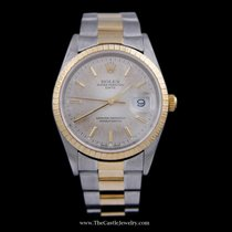 Rolex Date Rolex Watch w/ Silver Dial & Oyster Bracelet
