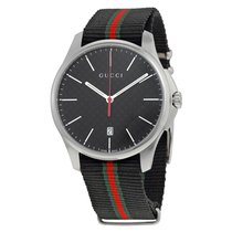 Gucci G Timeless Quartz Stainless Steel Watch YA126321
