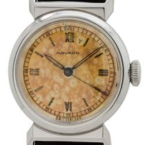 Movado Hooded Lugs Stainless Steel circa 1940's