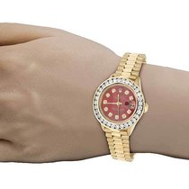 Rolex Ladies Rolex President Datejust 18K Yellow Gold 69178...