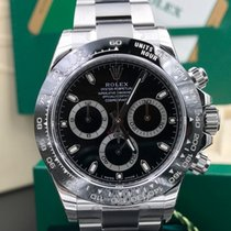 Rolex Daytona ceramic bezel black dial 116500ln
