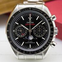 Omega 304.30.44.52.01.001 Speedmaster Automatic Moon SS UNWORN...