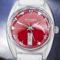 Auerole Aureole 23 Jewels Automatic Stainless Steel Swiss Made...