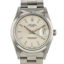 Rolex Oyster Perpetual Date en acier Ref : 15200 Vers 1995
