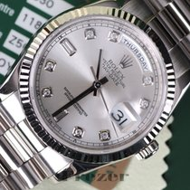Rolex Oyster Perpetual Day-Date 36 mm White Gold & Diamond