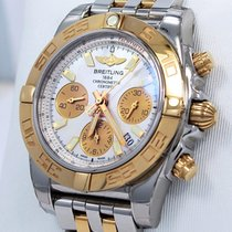 Breitling Chronomat Cb0140 41mm Chrono 18k Rose Gold &...