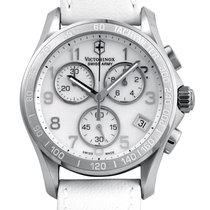 Victorinox Swiss Army Chrono Classic Ladies Stainless Steel...
