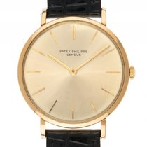 Patek Philippe Calatrava 18kt Gelbgold Handaufzug Armband...