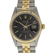 Rolex Oyster Perpetual Datejust 18K YG & SS 16013