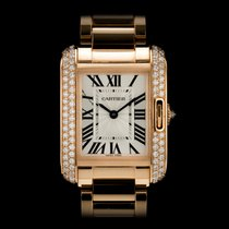 Cartier Tank Anglaise WT100002 Rose Gold