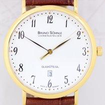 Bruno Söhnle Nabucco Date flach Quarz PVD plated gold Dresswatch