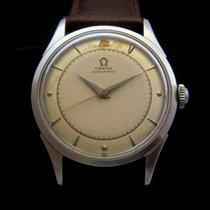 Omega Automatic Bumper 50's Steel Watch