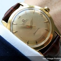 Omega Seamaster Automatic Solid Gold  automatik vollgold 18ct...