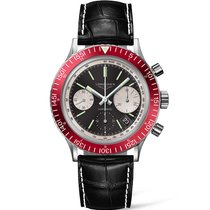 Longines Men's L28084520 Heritage Driver Watch