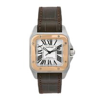 Cartier Santos 100 Automatic Mid-Size Watch Ref W20107X7