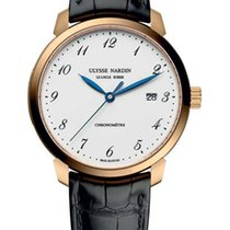 雅典 (Ulysse Nardin) Classico 18K Rose Gold Men's Watch