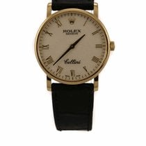 Rolex Cellini 18k Gold Watch 5115/8 (Pre-Owned)
