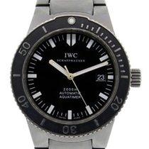 IWC 3536 Titanium Aquatimer 2000 Men's Watch