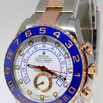 Rolex Yacht Master II 18k Everose & Steel Cerachron Watch...