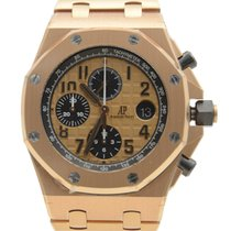Audemars Piguet Royal Oak Offshore 18k Rose Gold Gold Automati...