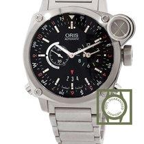 Ορίς (Oris) BC4 Flight Timer 42.7mm Black Dial Full Steel GMT NEW