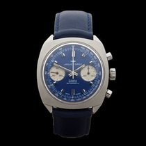 Jaquet-Droz Chronograph Vintage Valjoux 7733 Stainless Steel...