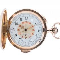 W. Lenz Bern Taschenuhr Savonette Chronograph Repetition...